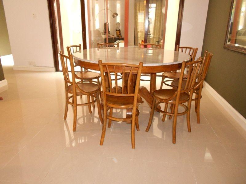 Teak Dining Furniture - Indoor Dining Tables - Kopitiam Dining Table