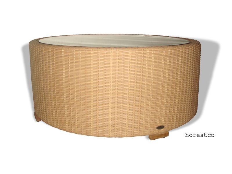 Teak Outdoor Furniture Outdoor Coffee Side Tables Hawaii Round