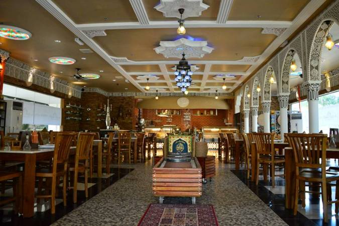 Al Qasr Restaurant Furniture