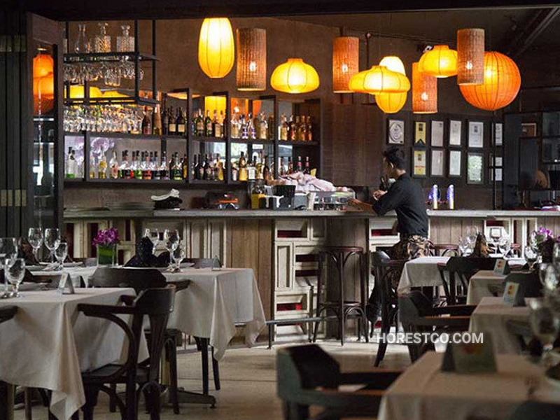 restaurants furniture Bijan Bar & Restaurant
