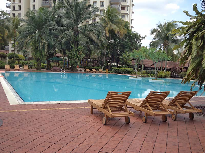condominiums furniture Danau Permai MADRID LOUNGER