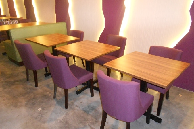 restaurants furniture Restaurant Amytheist PUBLIKA DINING TABLE - KASHMIR CHAIR