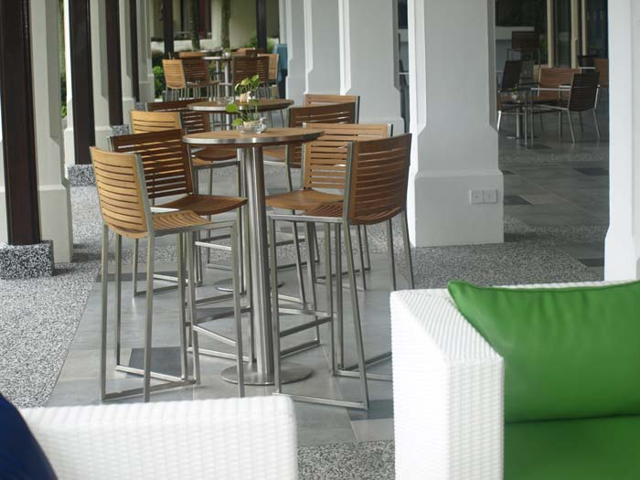 hotels furniture The Pulai Desaru Resort and Spa ACCURA BAR CHAIR - ACCURA BAR TABLE - DESARU SOFA