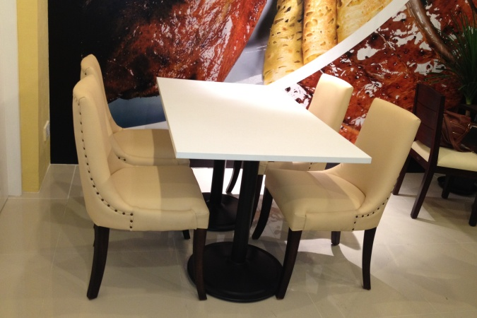 restaurants furniture Duck N Such VIP CHAIR - RITZ DINING TABLE