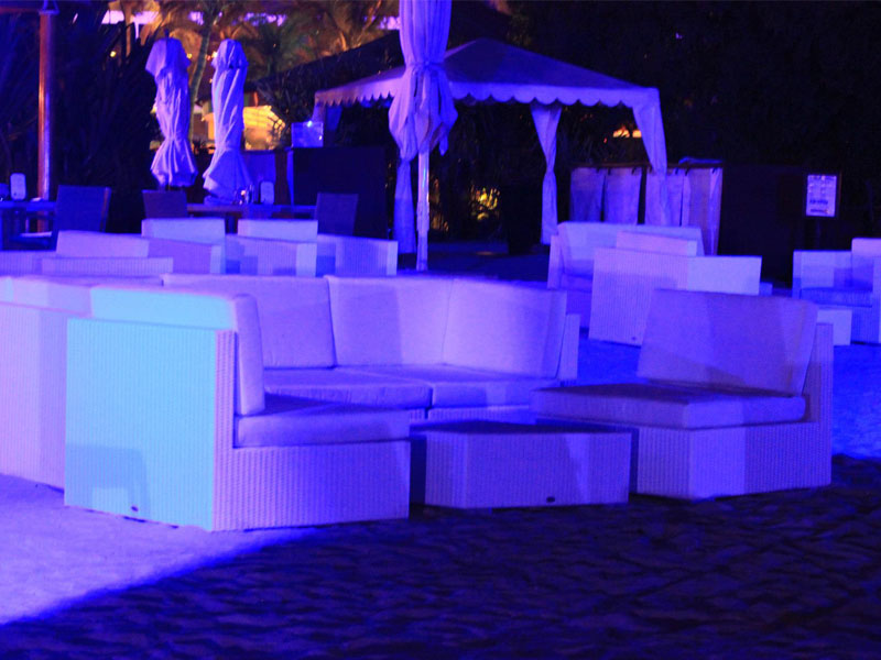 hotels furniture Marina Dubai REUNION MODULAR SOFA