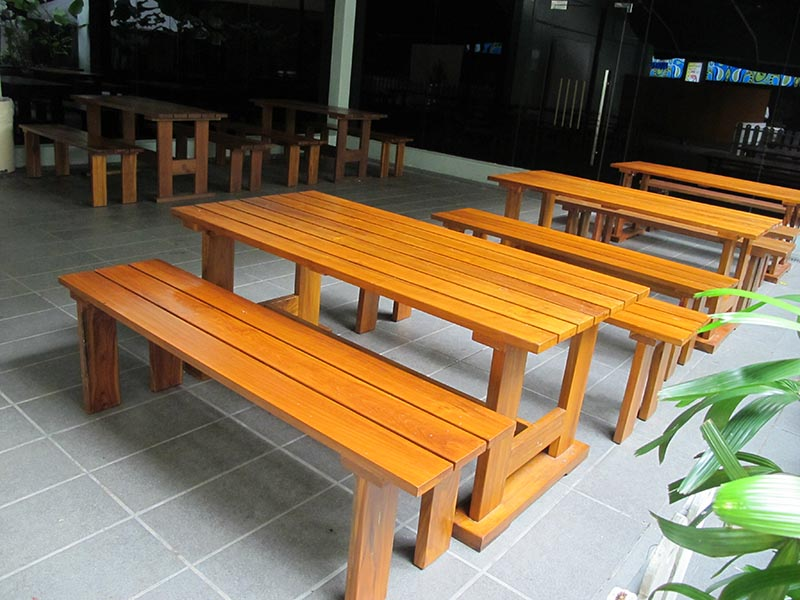 hotels furniture Seri Pacific Hotel TIARA TABLE - TIARA BENCH