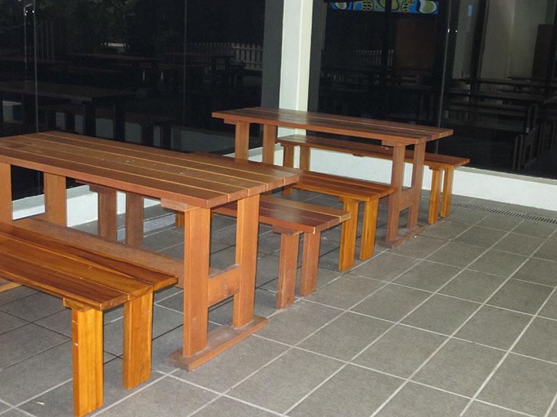 hotels furniture Seri Pacific Hotel TIARA TABLE - TIARA BENCH