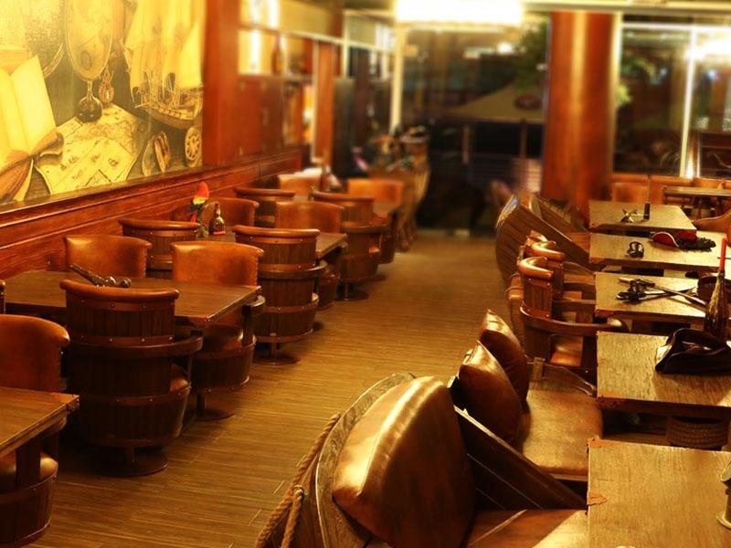 restaurants furniture LE PIRATE RESTAURANT