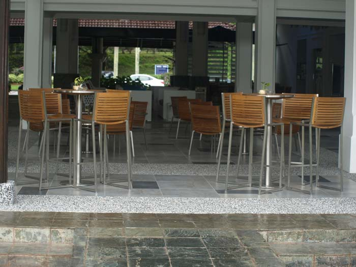hotels furniture The Pulai Desaru Resort and Spa ACCURA BAR CHAIR - ACCURA BAR TABLE