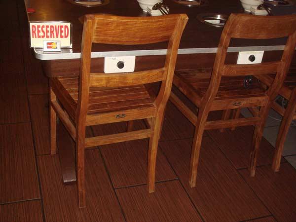restaurants furniture The Steamboat Ketam Village IKANO CHAIR