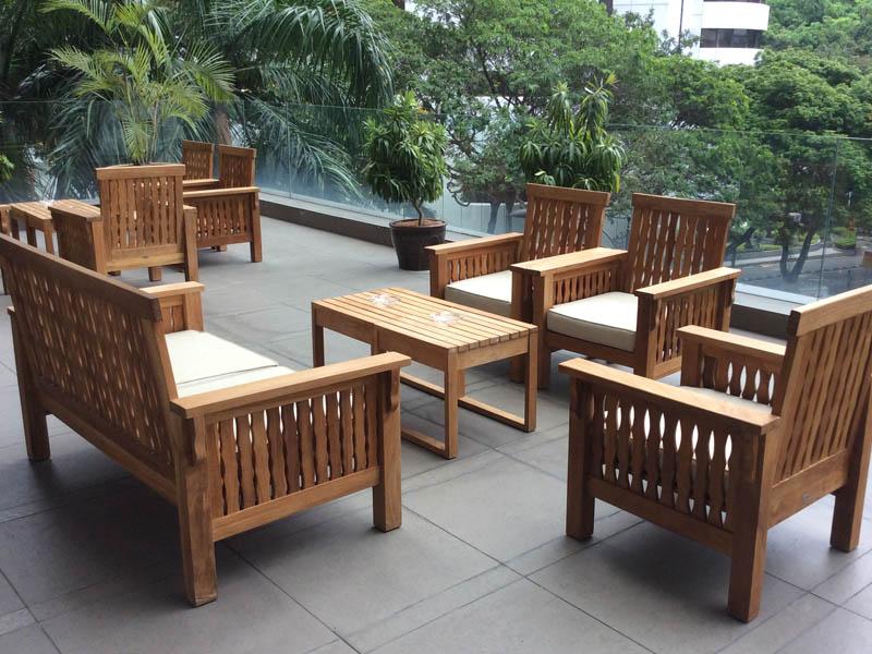 restaurants furniture Elegant Inn Restaurant MALDIVES SOFA - MALDIVES SOFA
