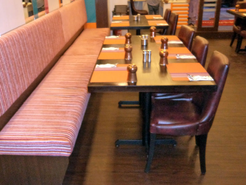 restaurants furniture Gems Klang PUBLIKA DINING TABLE - VIP CHAIR - VIP CHAIR