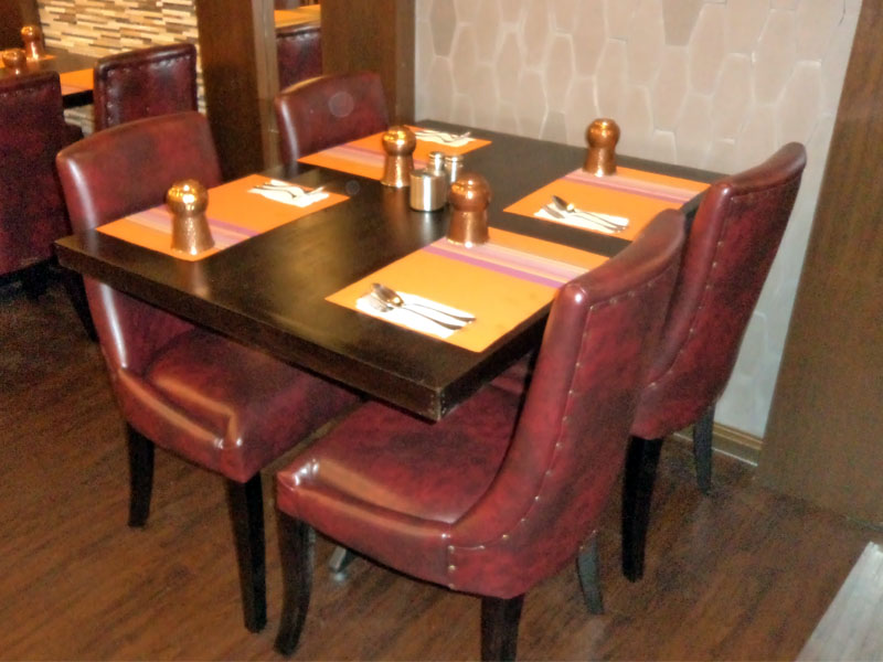 restaurants furniture Gems Klang VIP CHAIR - PUBLIKA DINING TABLE