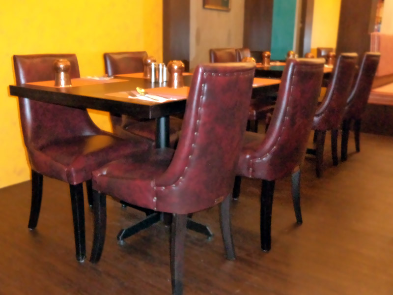 restaurants furniture Gems Klang PUBLIKA DINING TABLE - VIP CHAIR