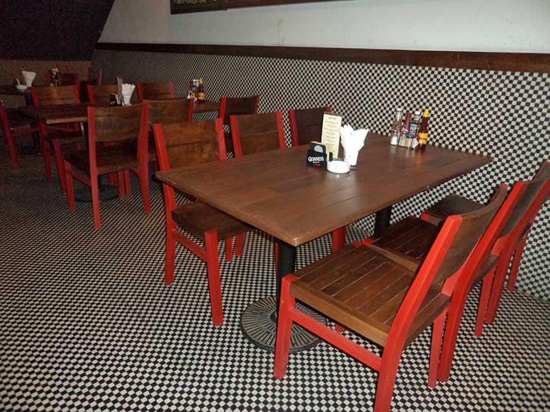 restaurants furniture Havana Fish And Chips Bar BAHAMAS DINING TABLE - HAVANA CHAIR