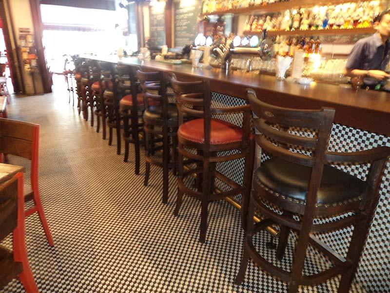 restaurants furniture Havana Fish And Chips Bar SERENE BAR CHAIR