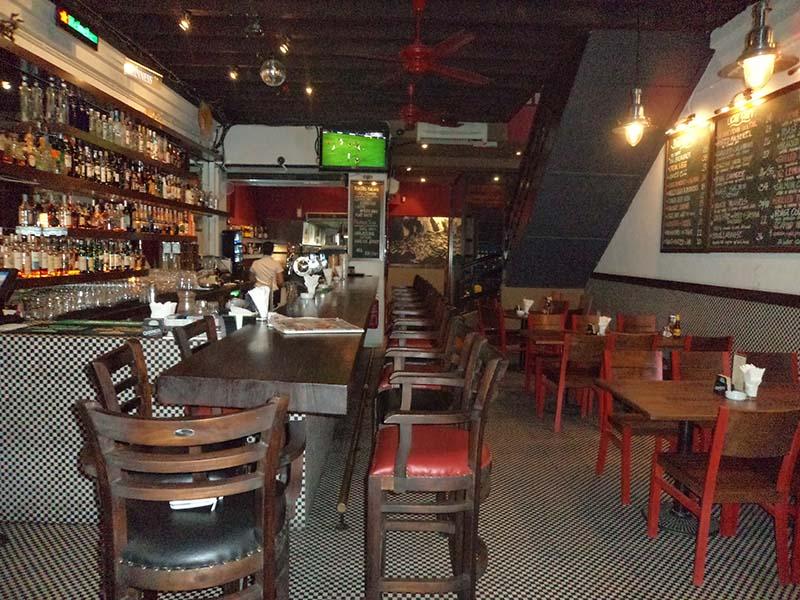 restaurants furniture Havana Fish And Chips Bar SERENE BAR CHAIR - BAHAMAS DINING TABLE - HAVANA CHAIR
