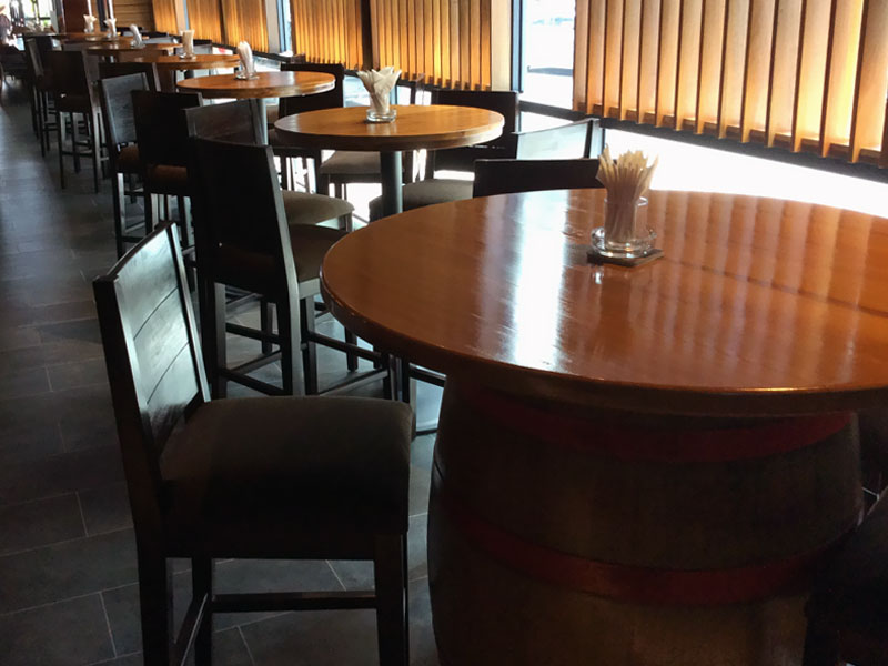 restaurants furniture Healy Macs 12 Bar HEALY BARREL - HEALY BARREL