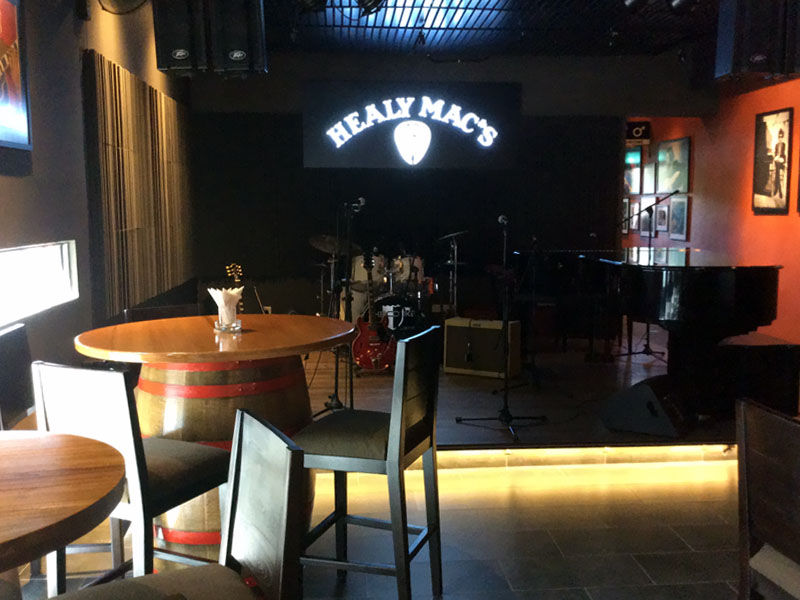Healy Macs 12 Bar Furniture