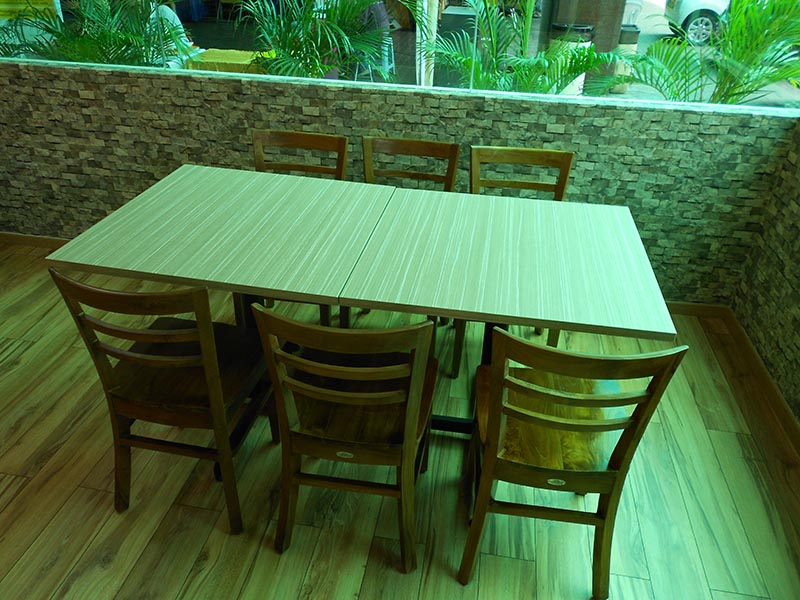 restaurants furniture HOMST PUBLIKA DINING TABLE - DOME CHAIR