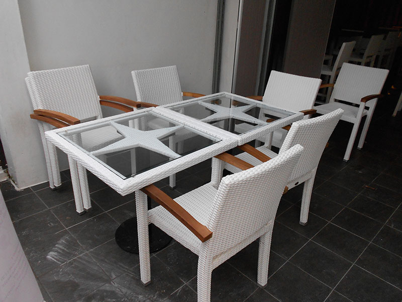 restaurants furniture I BIZA CLUB KL BALI DINING CHAIR