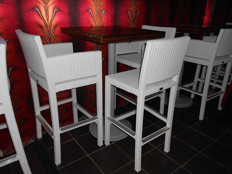 restaurants furniture I BIZA CLUB KL BAHAMAS BAR TABLE - BALI BAR CHAIR