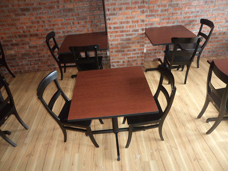 restaurants furniture JOE'S KITCHEN PUBLIKA DINING TABLE - SERAI CHAIR