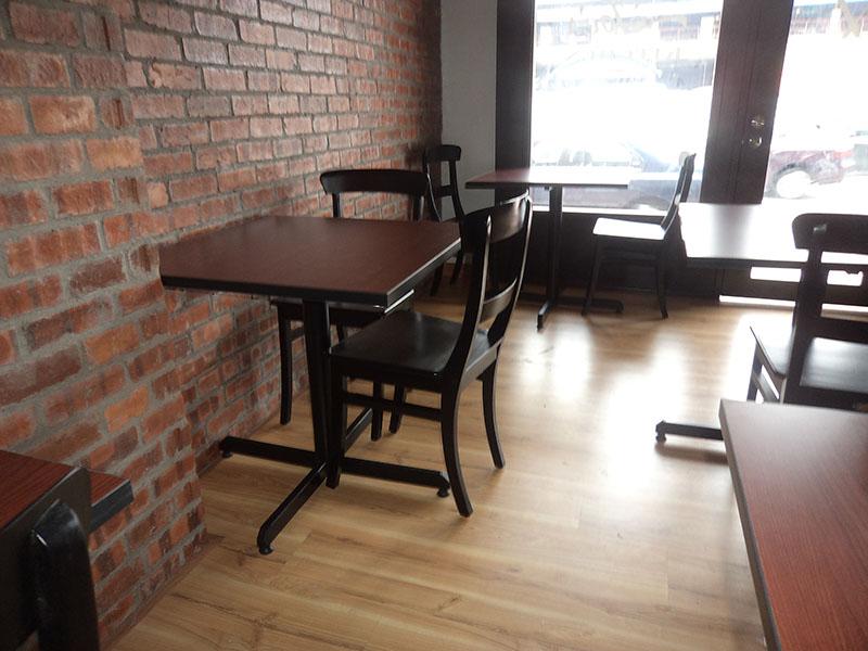 restaurants furniture JOE'S KITCHEN PUBLIKA DINING TABLE - SERAI CHAIR