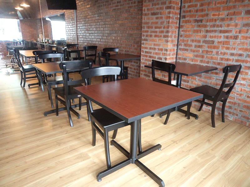restaurants furniture JOE'S KITCHEN SERAI CHAIR - PUBLIKA DINING TABLE