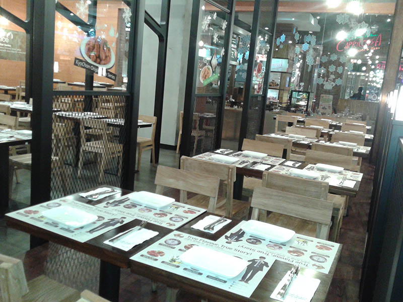 restaurants furniture Kyo Chon