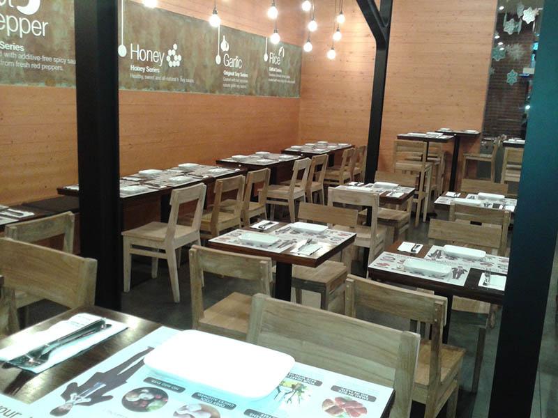 restaurants furniture Kyo Chon RITZ DINING CHAIR