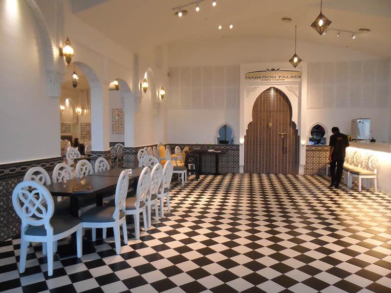 restaurants furniture Madfoon Palace