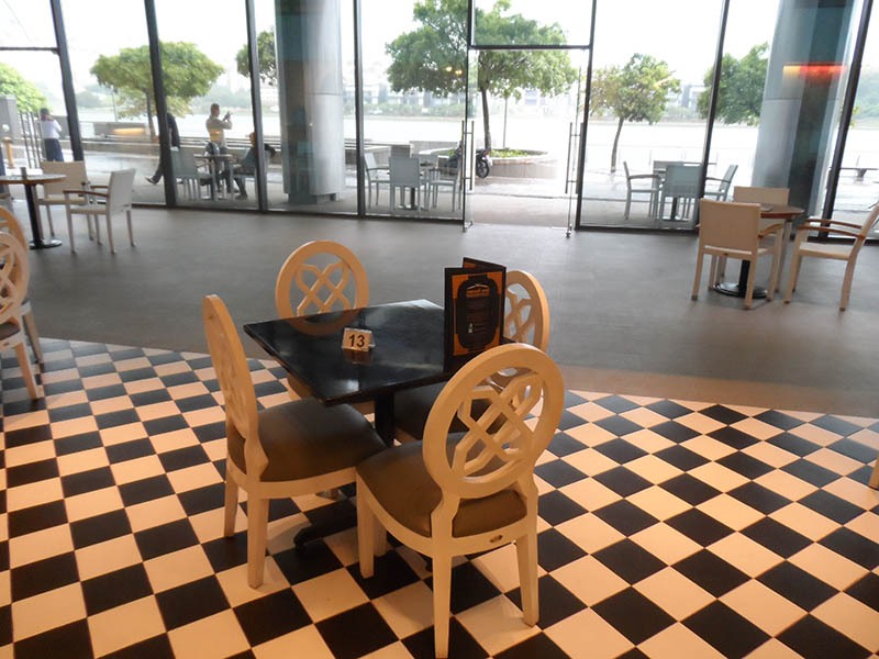 restaurants furniture Madfoon Palace BALI DINING CHAIR