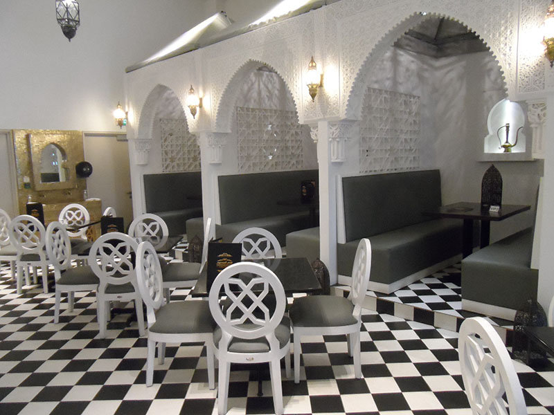 restaurants furniture Madfoon Palace VIP BOOTH