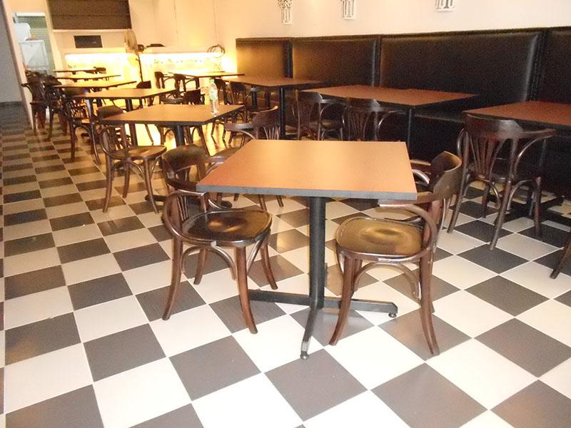 restaurants furniture Madfoon Palace BIJAN CHAIR - PUBLIKA DINING TABLE - PUBLIKA DINING TABLE