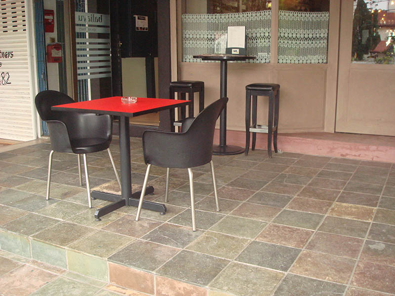 restaurants furniture Midi 57 MARINO BAR TABLE - PUBLIKA DINING TABLE - SAKURA BAR STOOL