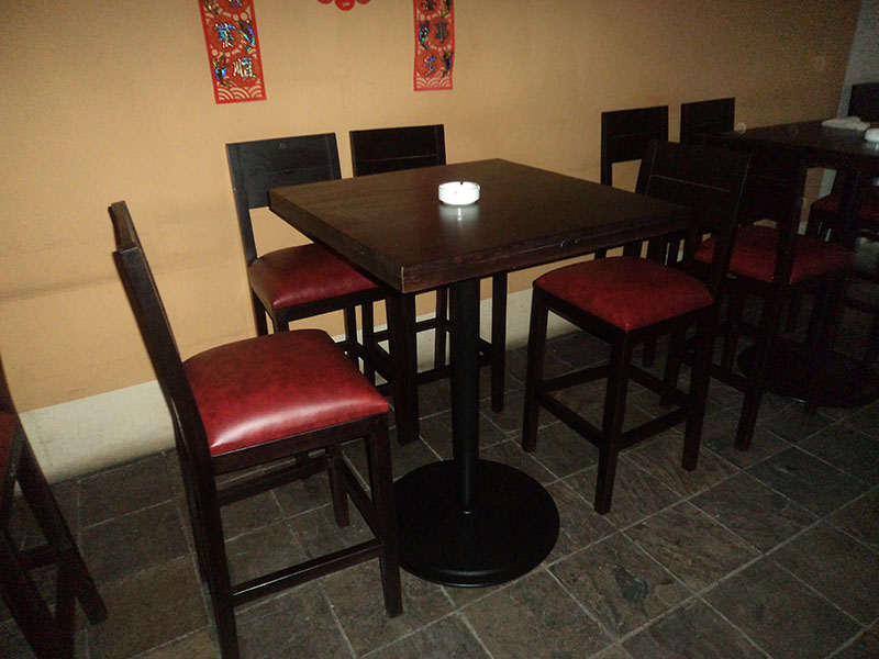 restaurants furniture Red Onions BAHAMAS BAR TABLE - GRENADA BAR CHAIR