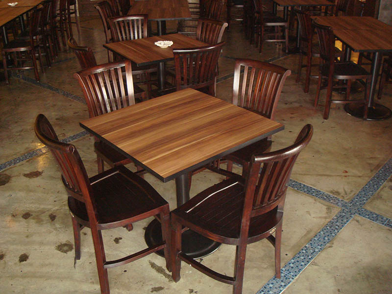 restaurants furniture Restaurant Anggerik Kuring BAHAMAS DINING TABLE - CONCORDE CHAIR