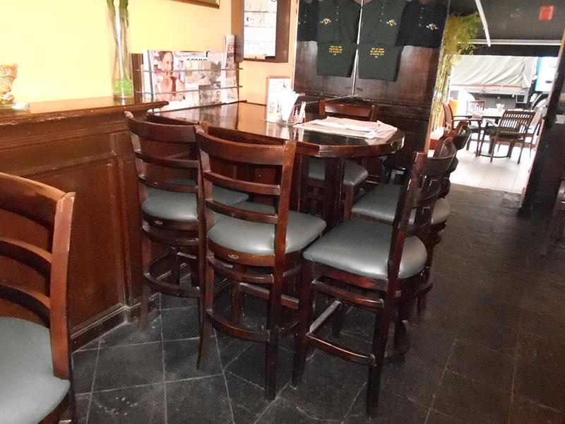 restaurants furniture RONNIE Q SERENE BAR CHAIR