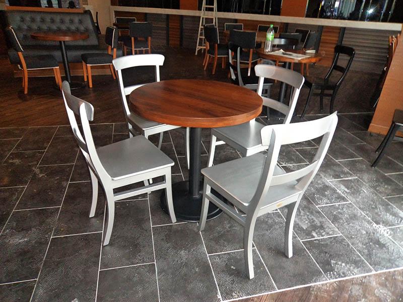 restaurants furniture SAKURA KRISTAL ALAM BAHAMAS ROUND TABLE - SERAI CHAIR