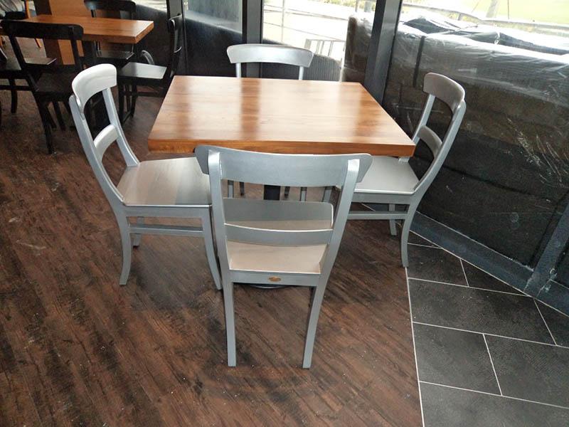 restaurants furniture SAKURA KRISTAL ALAM BAHAMAS DINING TABLE - SERAI CHAIR