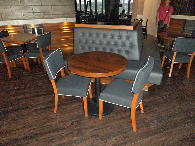 restaurants furniture SAKURA KRISTAL ALAM BAHAMAS ROUND TABLE