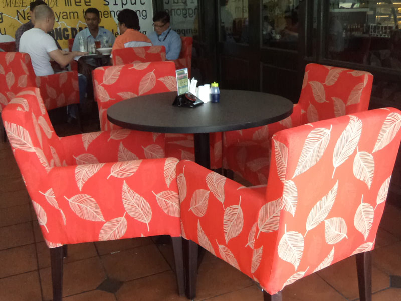 restaurants furniture Segamat Rel Cafe TRINITY CHAIR