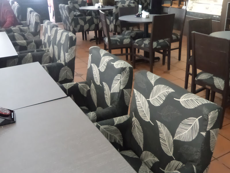 restaurants furniture Segamat Rel Cafe PUBLIKA DINING TABLE - TRINITY CHAIR