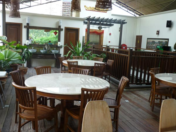 restaurants furniture Anggun Boutique Hotel CONCORDE CHAIR - KOPITIAM DINING TABLE D100