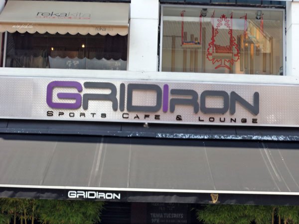 Grid Iron Sports Cafe & Lounge Furniture