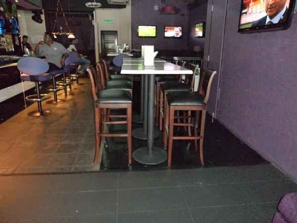 restaurants furniture Grid Iron Sports Cafe & Lounge VERON BAR CHAIR - VERON BAR CHAIR