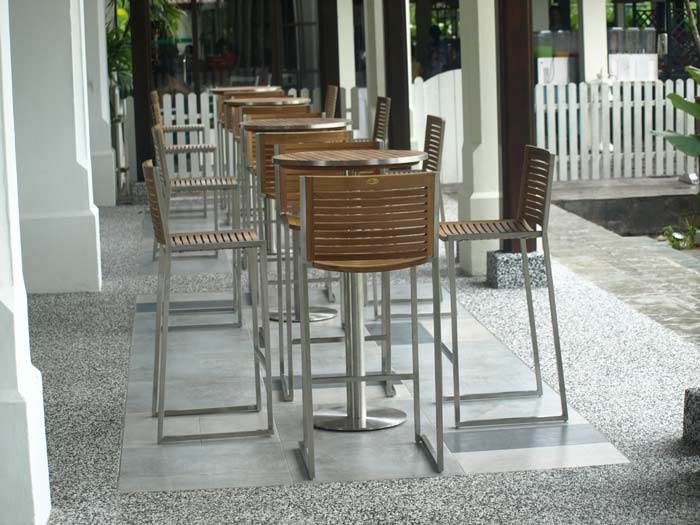 hotels furniture The Pulai Desaru Resort and Spa ACCURA BAR TABLE - ACCURA BAR CHAIR