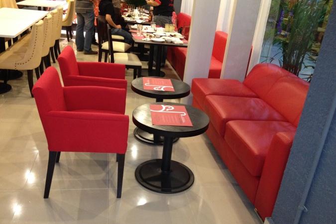 restaurants furniture Duck N Such BAHAMAS ROUND TABLE - TRINITY CHAIR