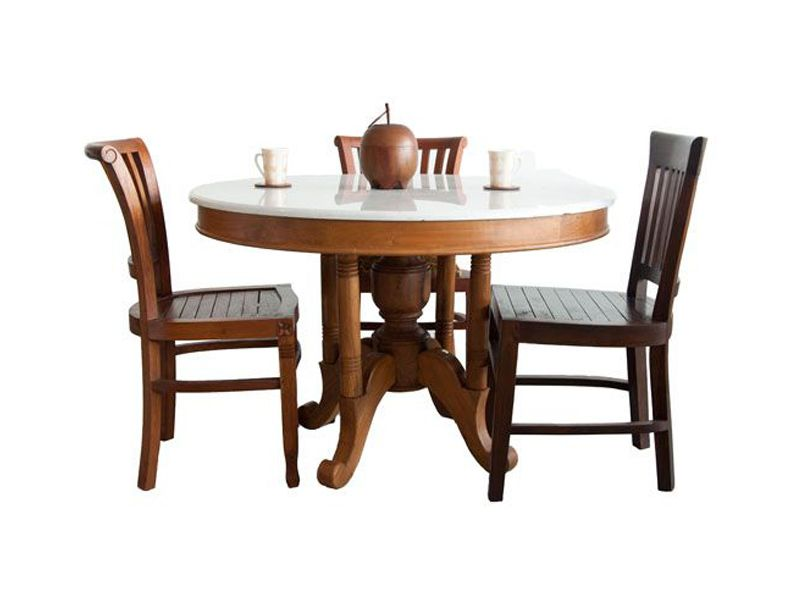 Kopitiam Dining Table Indoor Tables Teak Furniture Malaysia And Indonesia